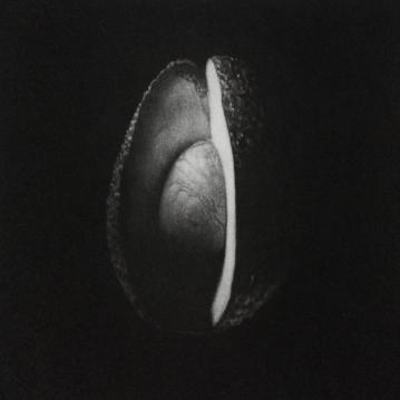 """""""Cosmos #5"""" - Mezzotint - 15 cm x 15cm."""